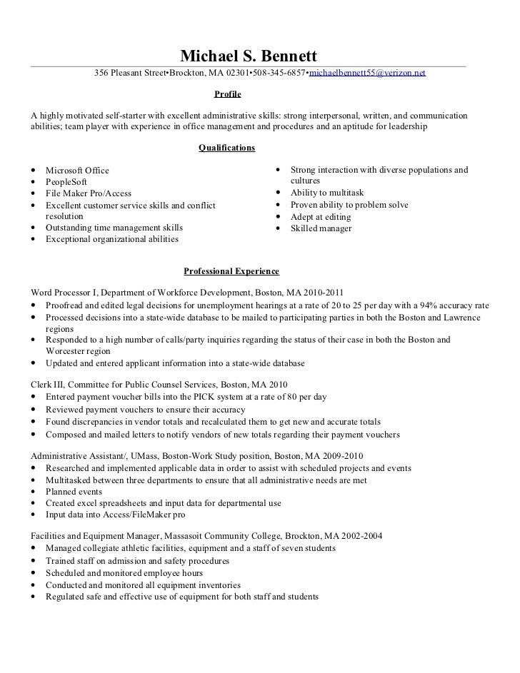 Identification Clerk Sample Resume Identification Clerk Sample