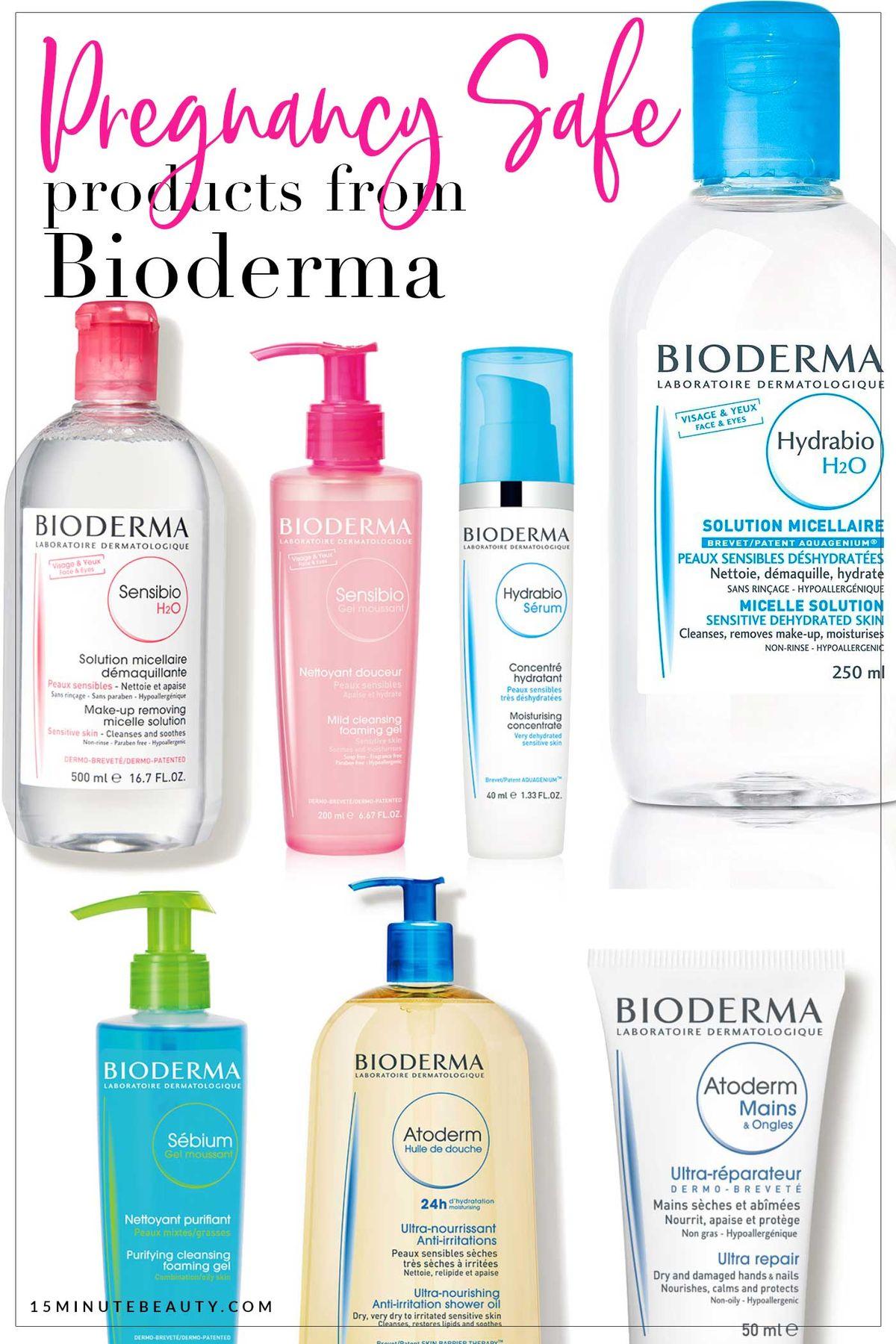 Pregnancy Safe Skincare from Bioderma