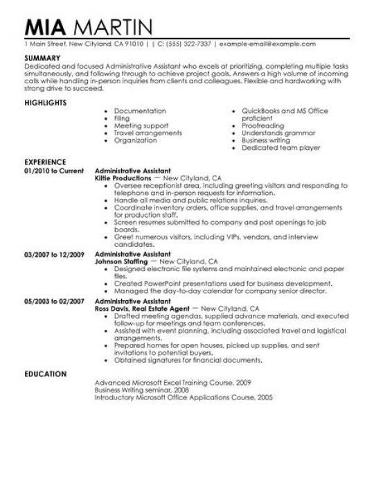 Military Resume Examples Example Sample