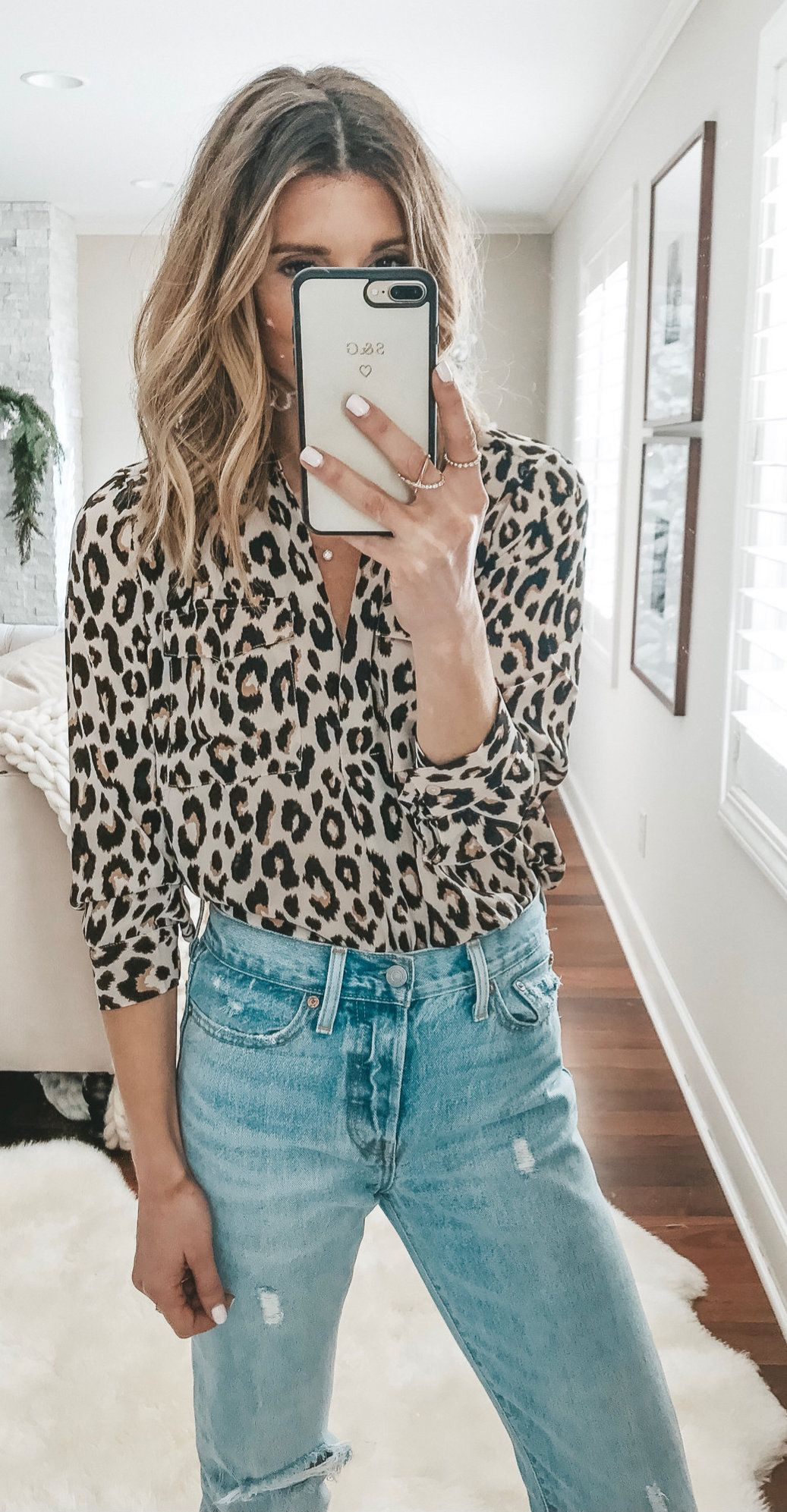 black and beige leopard pattern button-up sport shirt