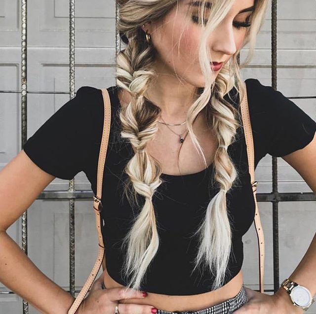 Super cool braids ❣️ @jbraidsandbows
