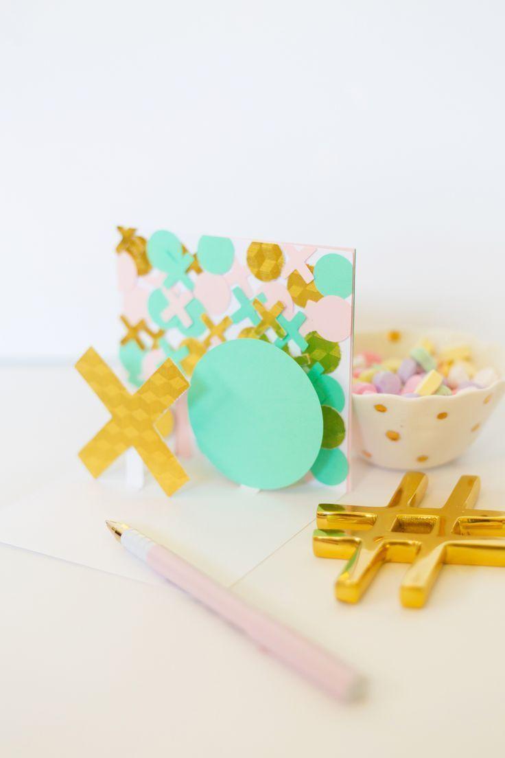 DIY Modern Valentine Pop-Up Cards » Lovely Indeed