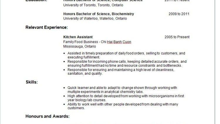 Waitress Resume Objectives | Resume Cv Cover Letter