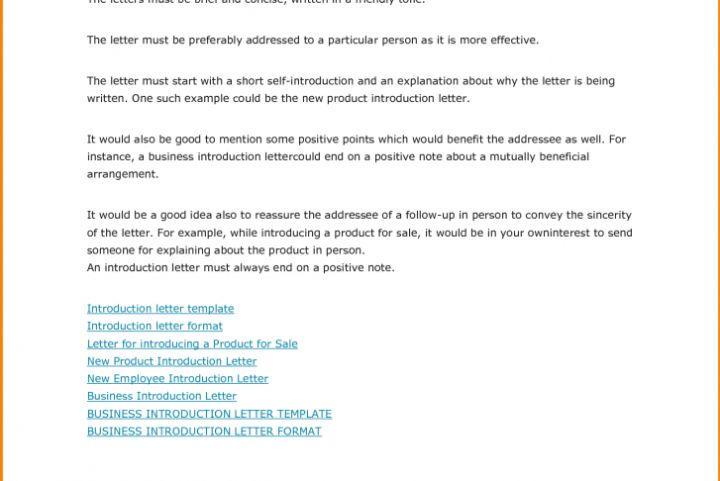 Best Introduction Letter For New Product Gallery - Best Resume - introduction letter for new product