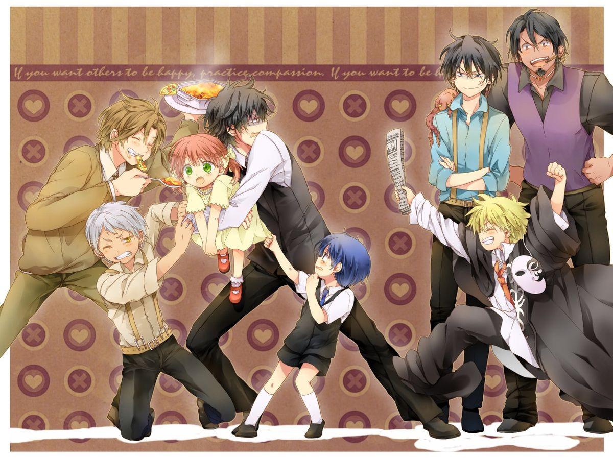 Arcana famiglia (With images) Anime, Anime images, Manga