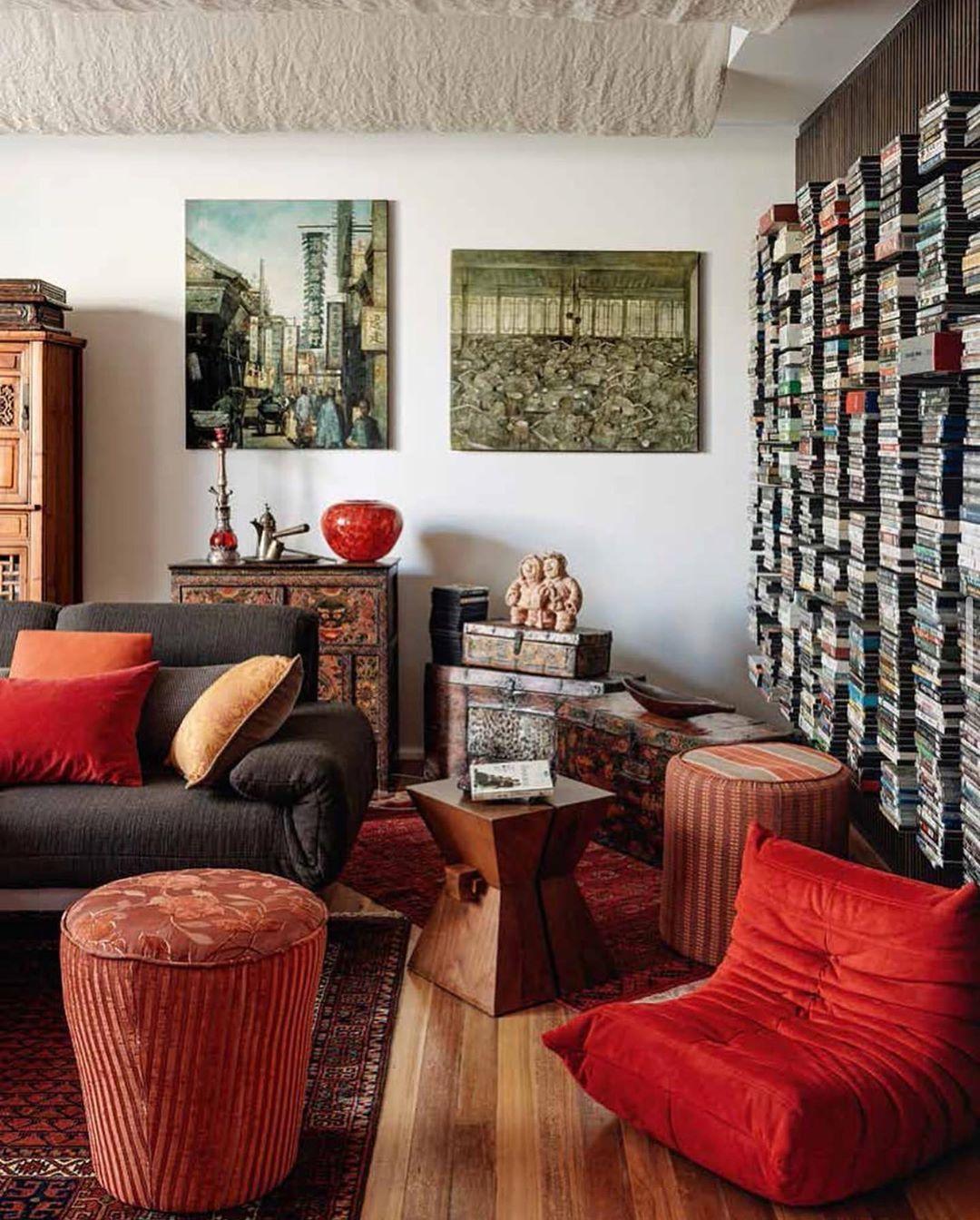 "Marc Costa on Instagram: ""RED #red #interiors #interiordesign #design @danielfintzi #architecture #architecturaldigest #homedecor #decor #lifestyle #instadaily…"""