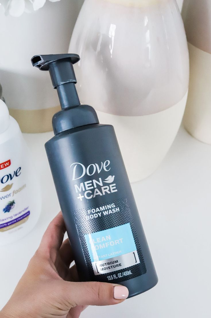 Looking for the best drugstore body wash for men? The Dove Men + Care Foaming Body Wash is amazing for the man in your life! Click through this pin to learn about where to get the best deals on Dove body wash! #SuperiorShower #Walmart #ad | Orlando, Florida beauty blogger Ashley Brooke Nicholas | best body wash, best drugstore body wash, best of beauty, ride or die beauty