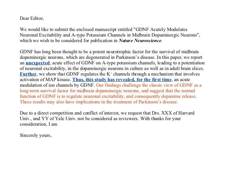 Attractive ... Publication Cover Letter Cover Letter Scientific Publication   Scientific  Editor Cover Letter ...