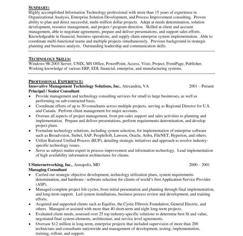 Mba Application Resume Examples Mba Admission Resume Sample - mba application resume format