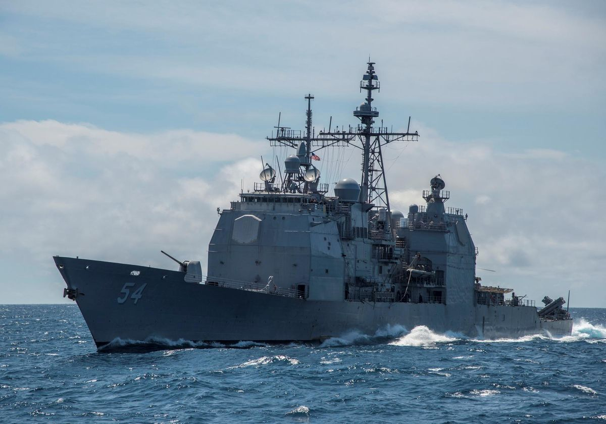 U.S. warship sails through Taiwan Strait, stirs tensions with China – Reuters