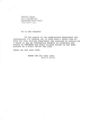 manicurist cover letter