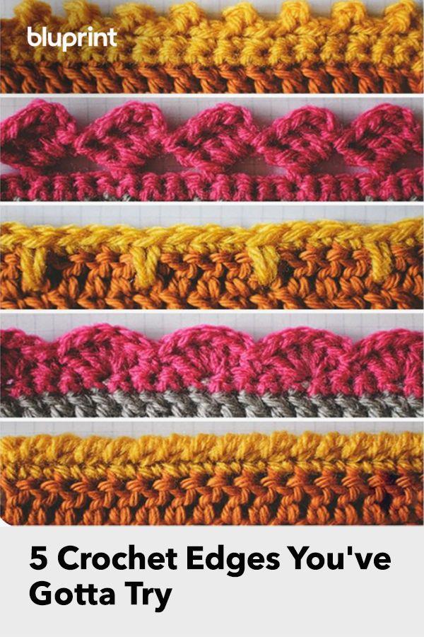 5 Crochet Edges You've Gotta Try