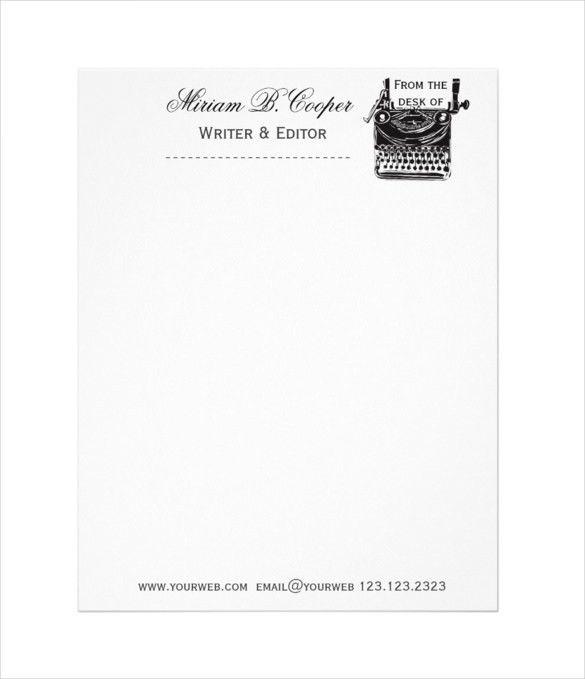 Professional Letterhead Templates 15 Professional Letterhead - professional letterhead