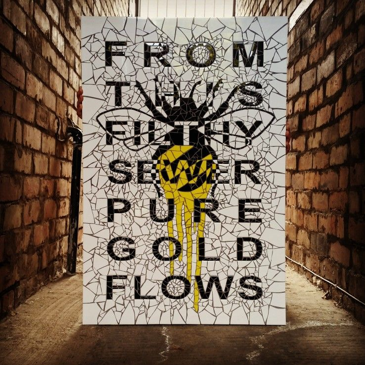 From this filthy sewer this pure gold flows Alexis de