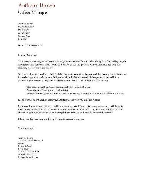 administrative service manager cover letter | node2001-cvresume ...