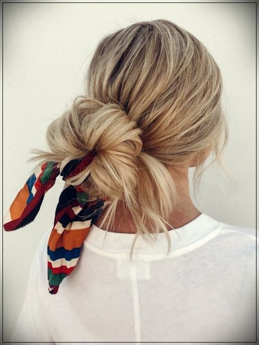 15 Styles of hairstyles with bandanas that you can do in less than 5 minutes #2019hairaccessories #hairaccessories