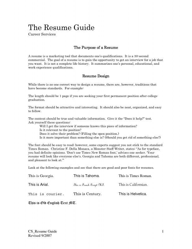 First Job Resume Objective Examples - Examples of Resumes - professional resume objective