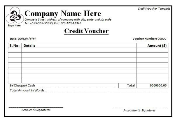 Expense Voucher Template Sample Expense Voucher Template 7 Free - blank vouchers template