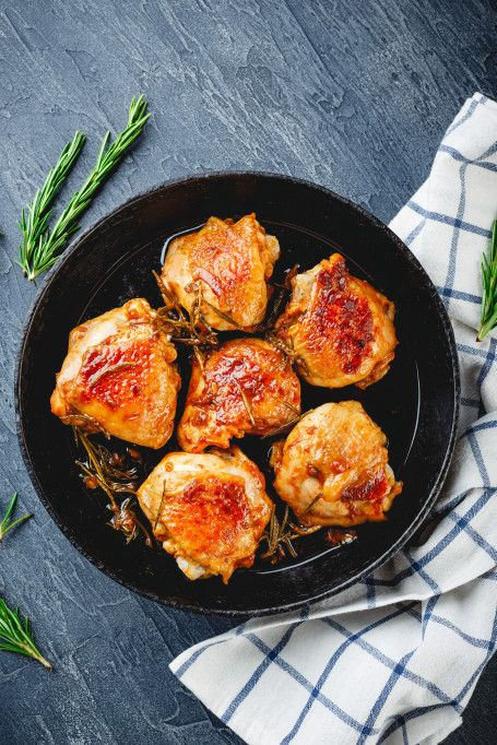 Ina Garten Recipes That'll Impress Your Dinner Guests: Chicken thighs with creamy mustard sauce #inagartenrecipes #dinnerrecipes #inagartendishes
