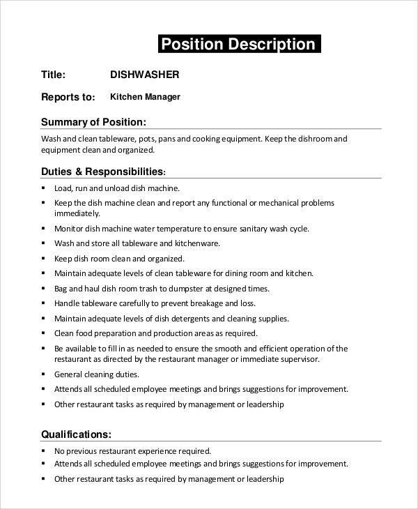 84 dining room manager job description dining for Dining room manager job description