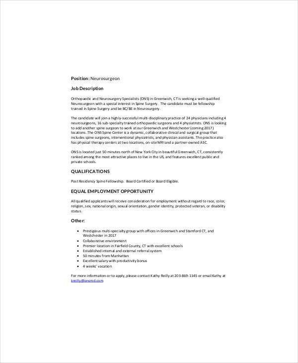 Ob gyn sonographer job description ob gyn sonographer job for Cover letter for ob gyn position