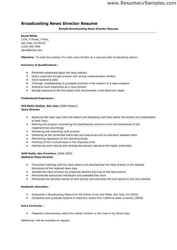 broadcast engineer sample resume top 8 broadcast engineer resume - Sample Broadcast Technician Resume