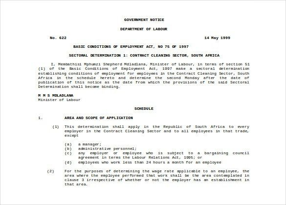 Contract Layout Contract Layout Contract Templates, 7 Contract - agreement for labour contract
