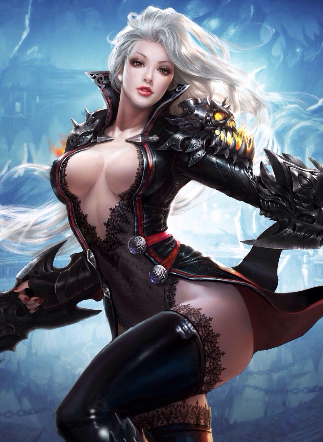 Seductive fantasy girl erotic pics