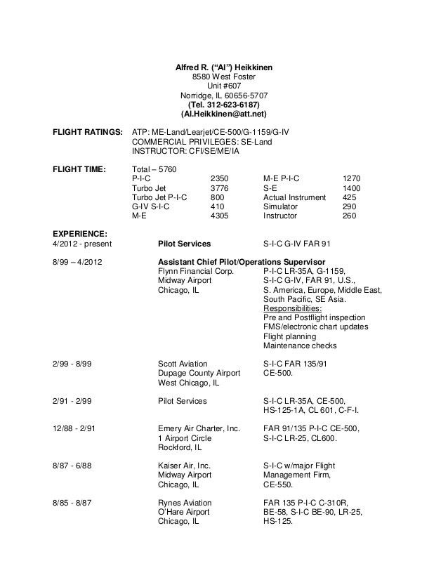 helicopter cfi resume military helicopter pilot resume tips