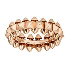 CRB4229800 - Clash de Cartier ring Small Model - Pink gold - Cartier