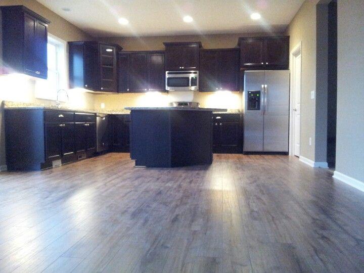 Espresso Kitchen Cabinets Decor