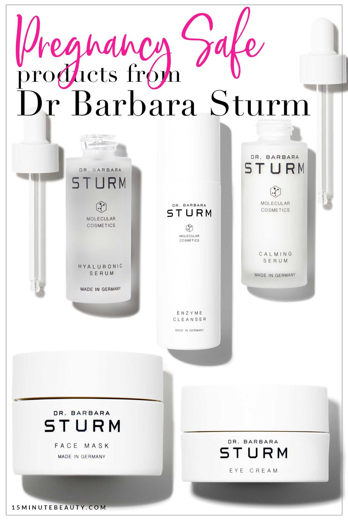 Can you use Dr Barbara Sturm when you're pregnant?