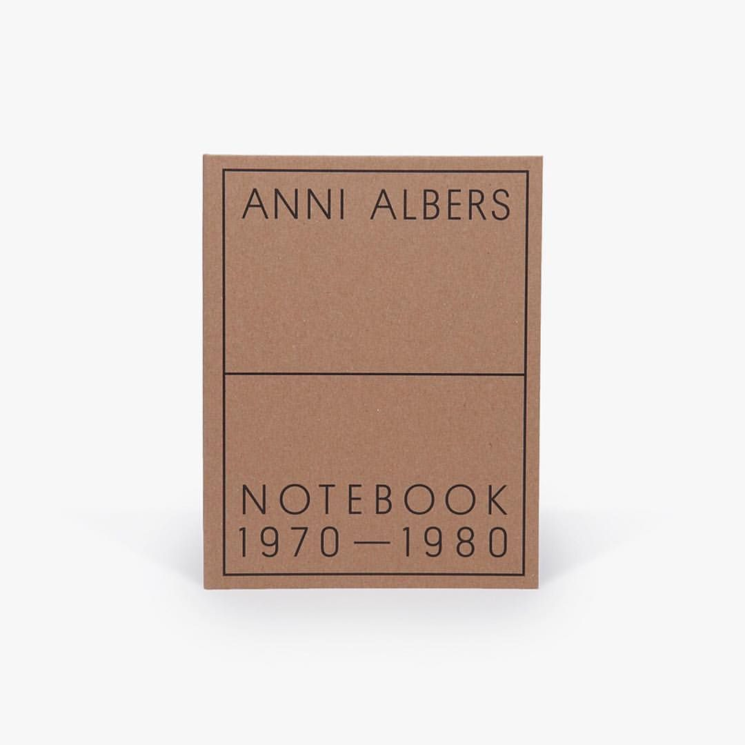 """""""Anni Albers: Notebook 1970–1980"""" has won the 50 Books/50 Covers of 2017 award from American Institute of Graphic Arts. The book has also been shortlisted for the 2018 British Book Design and Production Awards. ... regram: @davidzwirnerbooks #annialbers #davidzwirnerbooks #AIGA5050 #AIGAarchives #annialbersnotebook @SarahSchrauwen @aigadesign @bbdpawards"""