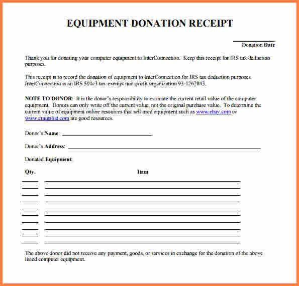 Donation Slip Sample Sample Donation Receipt Template 17 Free - donation receipt letter