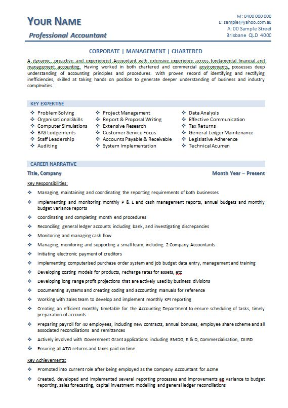 Australian resume example resume examples australia professional