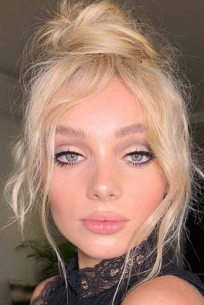 """Messy Bun Hairstyle With Soft Makeup <a class=""""pintag"""" href=""""/explore/bunhairstyle/"""" title=""""#bunhairstyle explore Pinterest"""">#bunhairstyle</a> <a class=""""pintag"""" href=""""/explore/matteshadow/"""" title=""""#matteshadow explore Pinterest"""">#matteshadow</a> Want your hair and makeup scream about romance this Valentine's day? Dive in our gallery to see the latest ideas! Simple styles and natural makeup looks, eye-catching vintage makeup ideas for a night out, and lots of looks to show up at a romantic party are here!  <a class=""""pintag"""" href=""""/explore/valentinesdaymakeup/"""" title=""""#valentinesdaymakeup explore Pinterest"""">#valentinesdaymakeup</a> <a class=""""pintag"""" href=""""/explore/valentinesdayhairstyle/"""" title=""""#valentinesdayhairstyle explore Pinterest"""">#valentinesdayhairstyle</a> <a class=""""pintag"""" href=""""/explore/valentinesday/"""" title=""""#valentinesday explore Pinterest"""">#valentinesday</a> <a class=""""pintag"""" href=""""/explore/makeup/"""" title=""""#makeup explore Pinterest"""">#makeup</a> <a class=""""pintag"""" href=""""/explore/hairstyle/"""" title=""""#hairstyle explore Pinterest"""">#hairstyle</a><p><a href=""""http://www.homeinteriordesign.org/2018/02/short-guide-to-interior-decoration.html"""">Short guide to interior decoration</a></p>"""