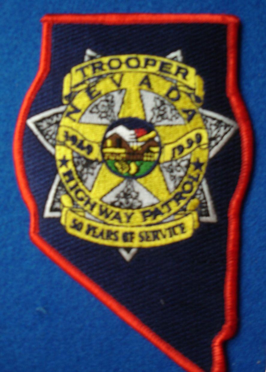 Nevada Highway Patrol 50th Anniversary (1999) Police