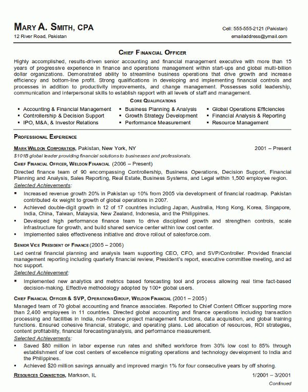 Best Executive Resumes Samples Download Executive Resume Samples