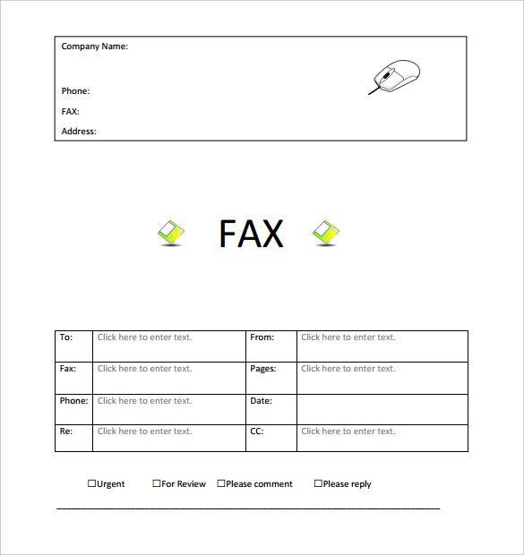 Fax Cover Sheet Free Free Fax Cover Sheet Template Printable Fax - sample cute fax cover sheet