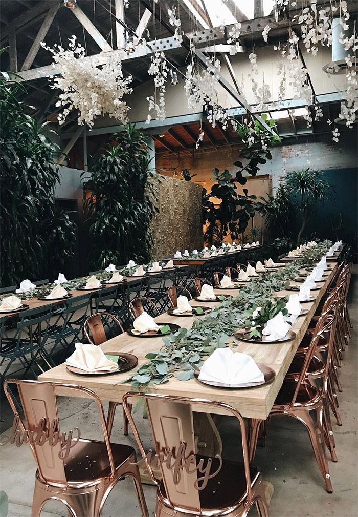 gorgeous and romantic greenery wedding reception ideas for sage green wedding theme