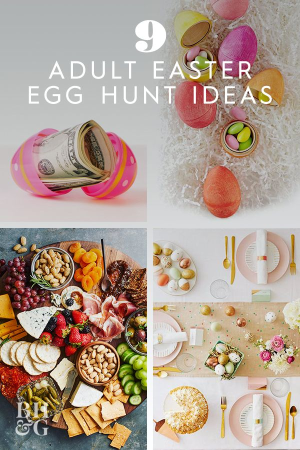 9 Adult Easter Egg Hunt Ideas That Go Way Beyond Jelly Beans and Quarters