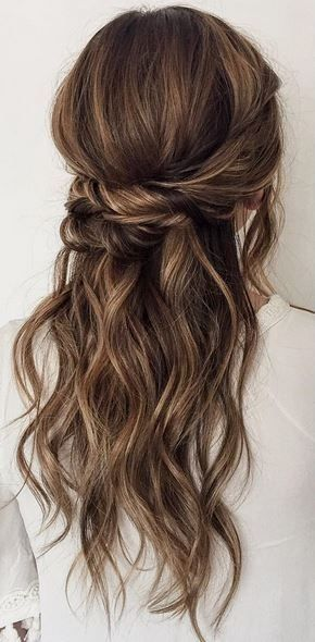 Bridesmaid Hair Lob
