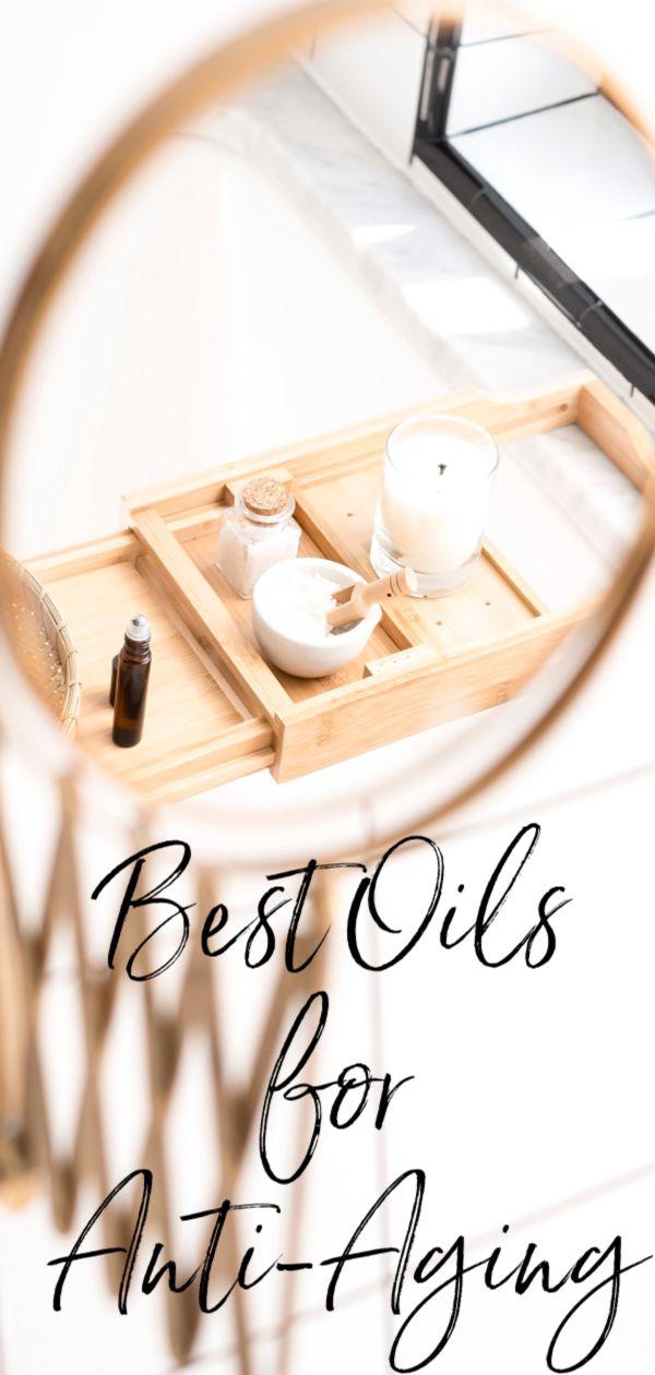 Best face oils for anti-aging. #skincare #skincareblog