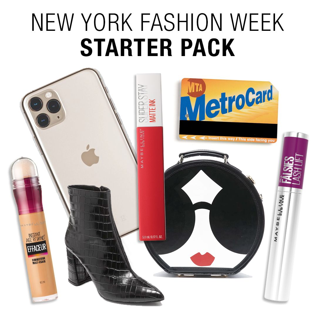New York Fashion Week Starter Pack Meme