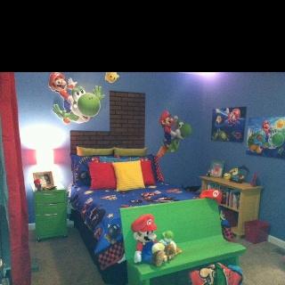 super mario bros theme bedroom boys 39 room pinterest mario