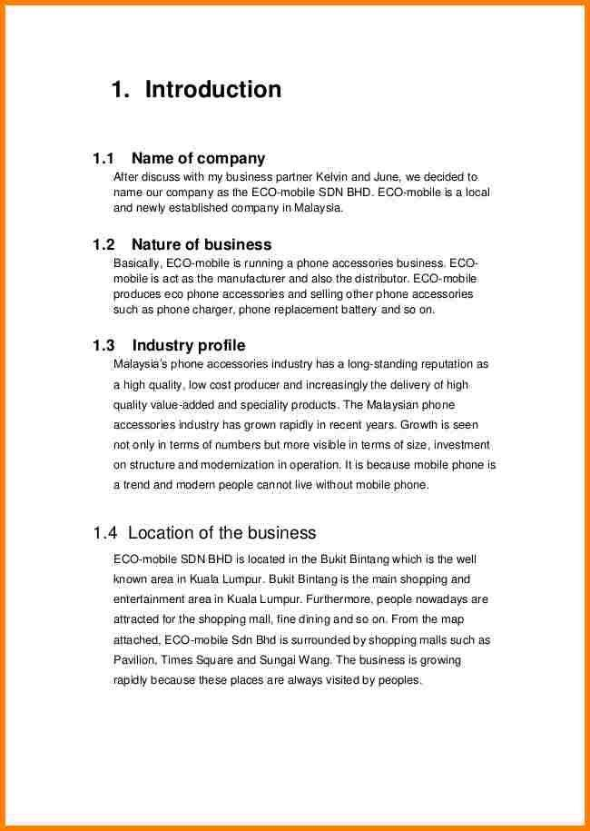Business Project Proposal Template Formal Business Project - business project proposal template