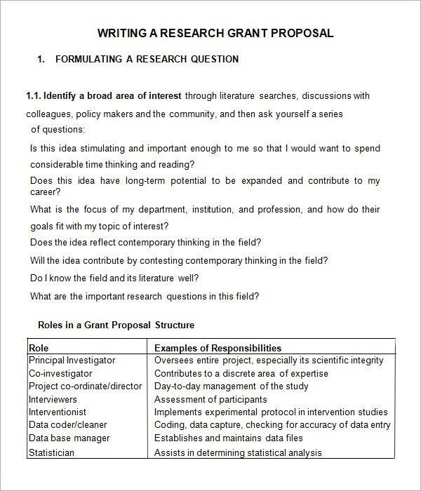 grant request cover letters