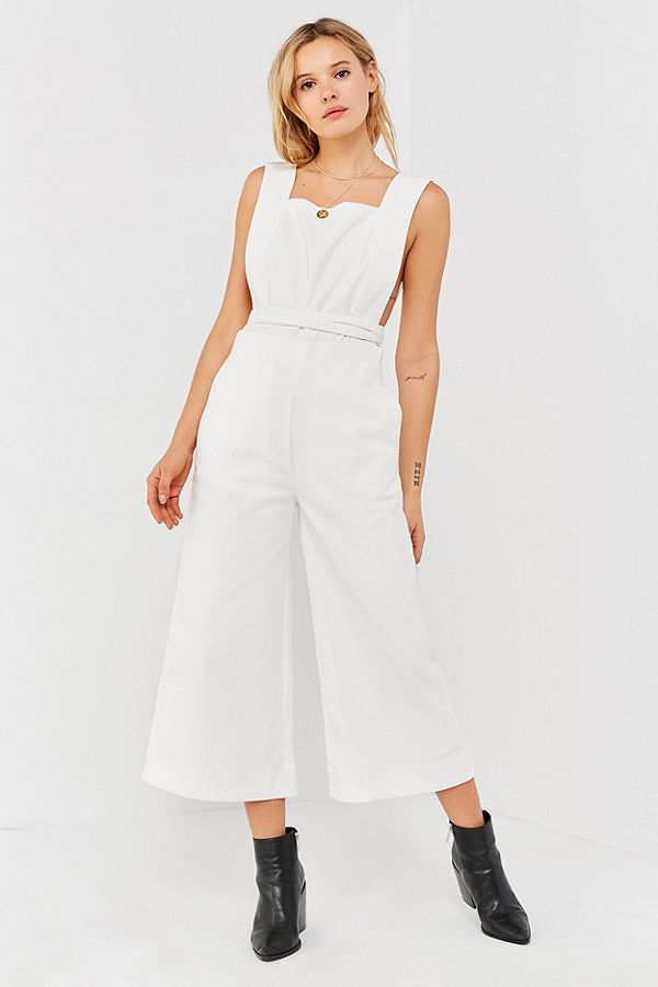 UO tia square neck jumpsuit