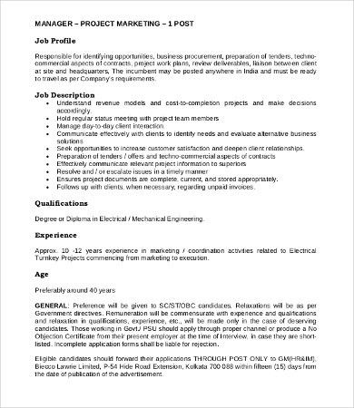Shipping Manager Job Description Branch Logistics Manager Job - project engineer job description