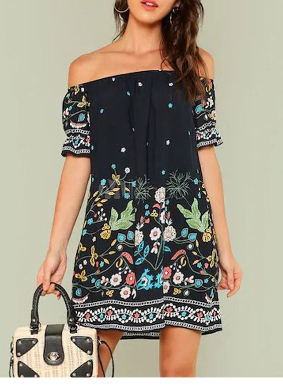 Very nice boho dress style